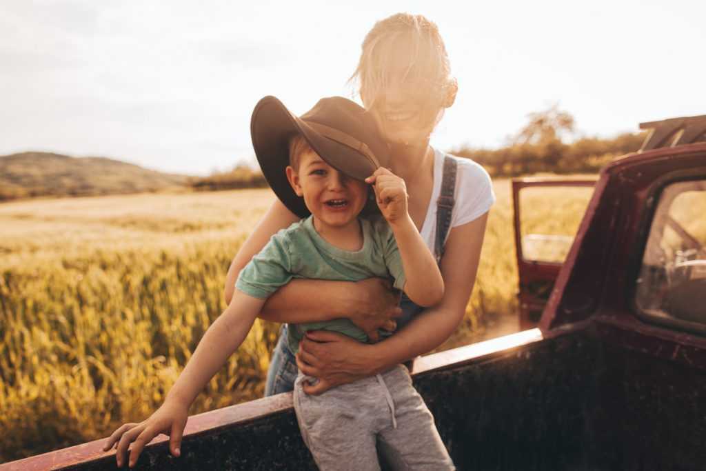 Take the Kids to Play in the Barn Lot at Braehead Farm!